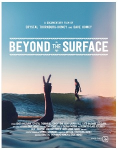 Ishita stars in Beyond the Surface - a unique film about surfing in India