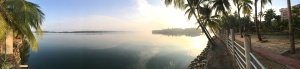 Thonse sits between the River Sita and the Arabian sea