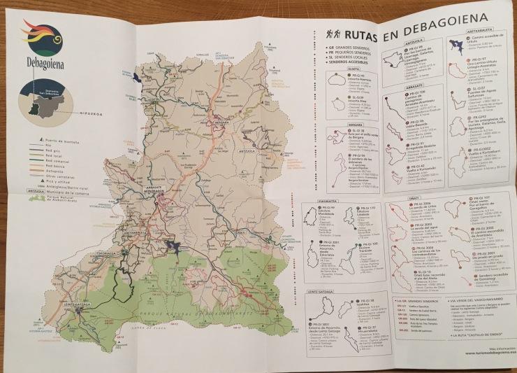 Rutas en Debagoiena